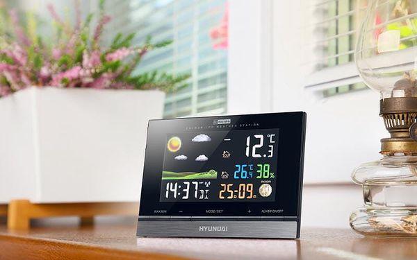Meteorologická stanice Hyundai WS 2303 černá5