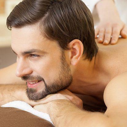 50 minut relaxace: masáž a rašelinový zábal zad