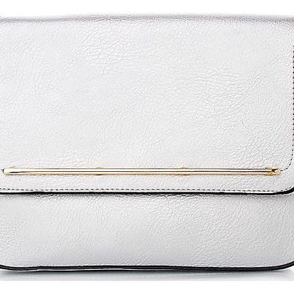 Ethina Stříbrná kabelka A-1092SI Velikost: UNI