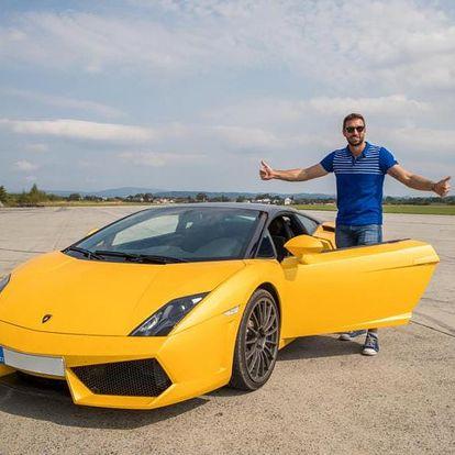 Jízda v Lamborghini Gallardo LP 560 v Čechách