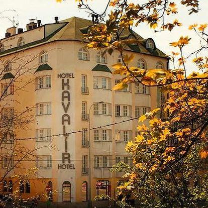 3–4denní pobyt pro 2 se snídaněmi v hotelu Kavalír*** v Praze