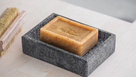 Garden Trading Žulová mýdlenka Granite, šedá barva, kámen