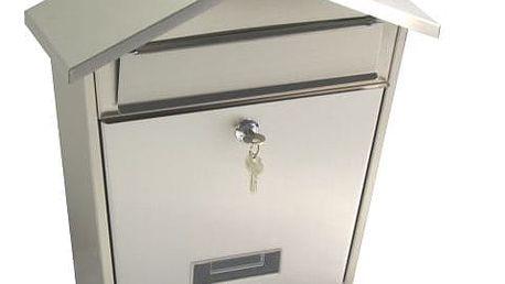 G21 LORI Schránka poštovní 355x375x135 nerez