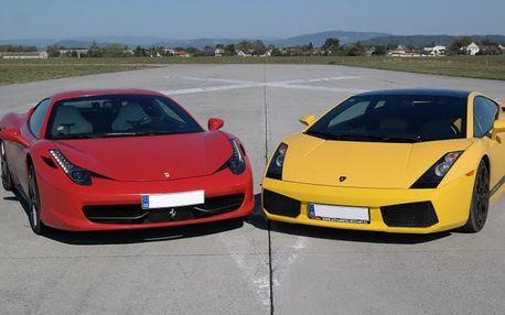 Souboj titánů: Ferrari 458 Italia vs Lamborghini Gallardo LP560 v Čechách