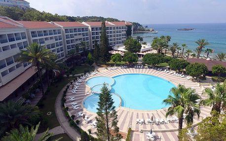 Turecko - Alanya na 6 dní, all inclusive s dopravou letecky přímo na pláži