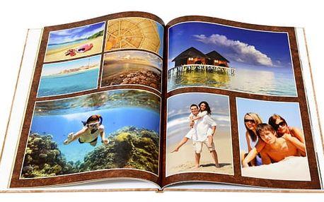 Fotokniha s pevnou vazbou - A4, 72 stran, možný osbní odběr