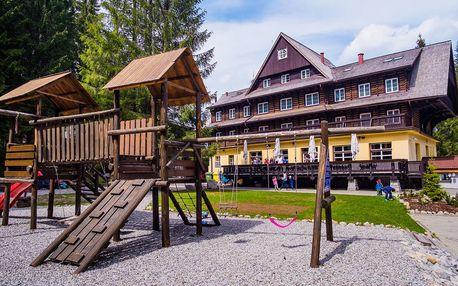 Jaro nebo léto v Tatrách vč. polopenze i wellness