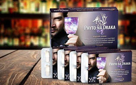 Přírodní odbourávač alkoholu PhytoNaDraka