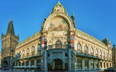 Vstupenka na sváteční koncert ve Smetanově síni