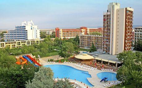 Bulharsko - Slunečné Pobřeží na 8 až 11 dní, all inclusive s dopravou vlastní 130 m od pláže