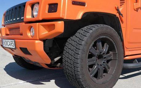 Jízda v Hummeru H2 GEIGER V8 6.2 Hemi
