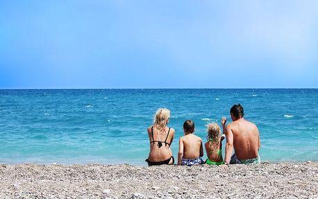 Itálie: pobyt u moře + bazén neomezeně