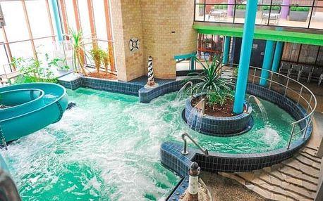 Györ v Land Plan Hotelu *** s polopenzí, saunou a vstupem do lázní Rába Quelle