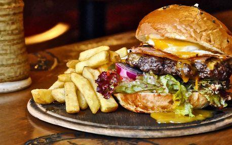 Skvělé burgery a kopa hranolek v centru Brna