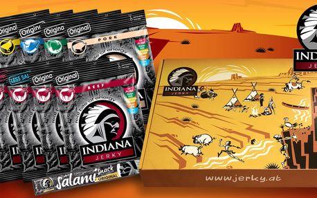 10× sušené maso Indiana Jerky včetně dopravy