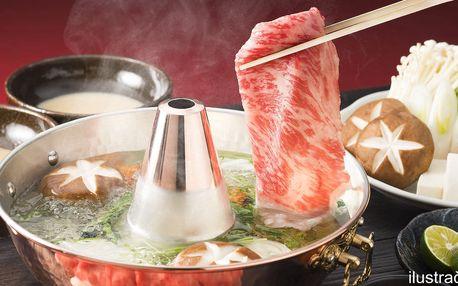 Shabu-shabu: tradiční asijská specialita pro 2