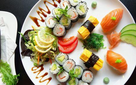 Sushi sety v OC Olympia: 20 nebo 58 kusů