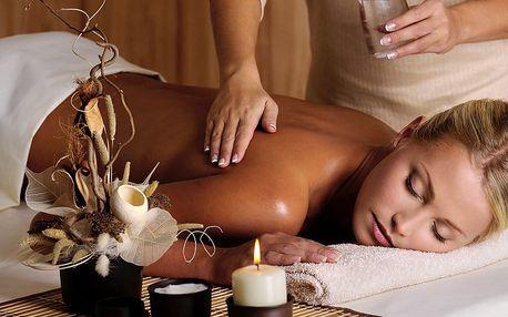 60minutová čínská energetická masáž + zábal na ruce