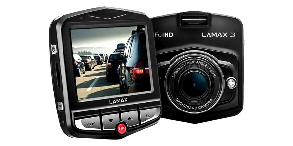 Autokamera LAMAX C3 černá4
