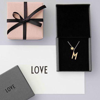 DESIGN LETTERS Pozlacený řetízek Design Letters 45 cm, zlatá barva, kov