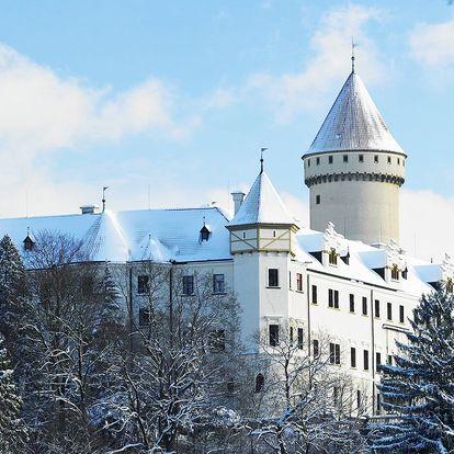 Romantický wellness pobyt u zámku Konopiště