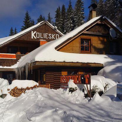 Zimný pobyt priamo na zjazdovke v TOP stredisku Jasná