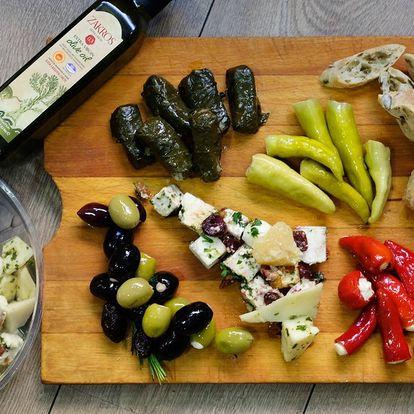 Libovolné řecké delikatesy v hodnotě až 1500 Kč