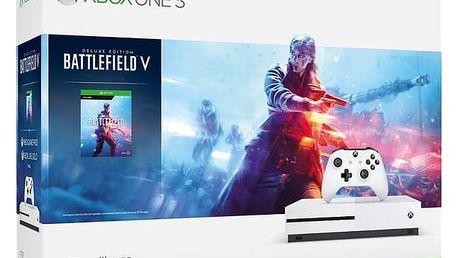 Microsoft Xbox One S 1 TB + Battlefield V (234-00688)