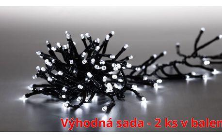 Marimex | Řetěz světelný 400 LED dvojitý - studená bílá - sada 2 ks | 19900057