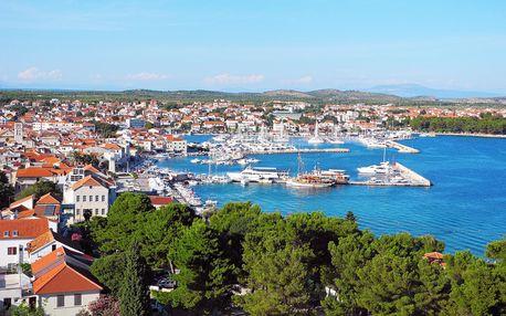 8–10denní Chorvatsko, Vodice| Hotel Kristina** na pláži | Děti zdarma | Bazén | Polopenze | Autobusem nebo vlastní doprava