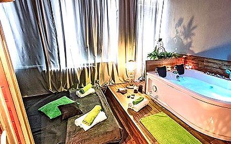 Privátní wellness se saunou, vířivkou a masáží pro 2 osoby v hotelu Golf.