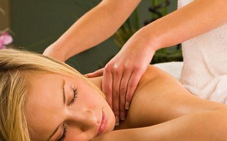 Až hodinová masáž v Estetickém centru To well. Na výběr z několika druhů. Vhodné pro muže i ženy.