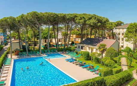 8–10denní Itálie, Caorle | Depandance hotelu Marina*** 250 m od pláže | 2 Děti zdarma | Bazén | All inclusive | Autobusem nebo vlastní doprava