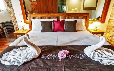 Romantický pobyt pro dva s wellness na pokoji