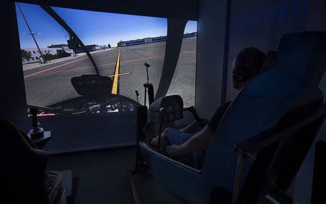 Pohyblivý simulátor helikoptéry + 15 minut ZDARMA
