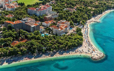 8–10denní Chorvatsko, Baška Voda | Bungalovy Urania** 50 m od pláže | Doprava -50% | Dítě zdarma | Light all inclusive, autobusem nebo vlastní doprava