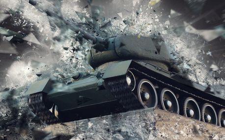 Jízda tankem na Slovensku u hranic - netradiční dárek na celý rok 2019