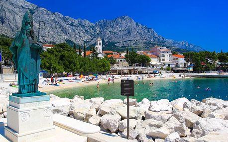 8–10denní Chorvatsko, Baška Voda | Villa Juroš*** | Polopenze, autobusem nebo vlastní doprava