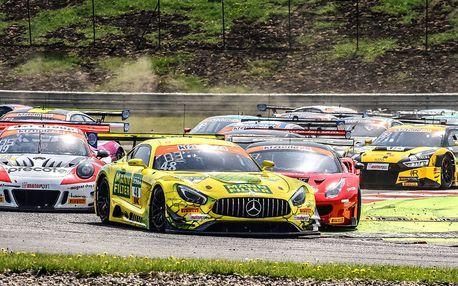 Mezinárodní závody supersportovních vozů v Mostě