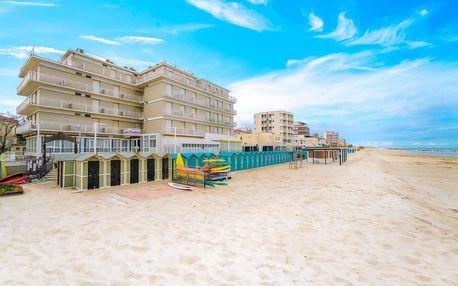 8–10denní Itálie, Marche | Hotel President*** přímo na pláži | Děti zdarma | Polopenze s nápoji | Balkón a klimatizace zdarma