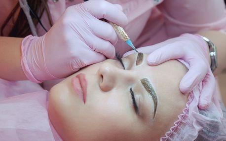 Permanentní make-up metodou vláskování