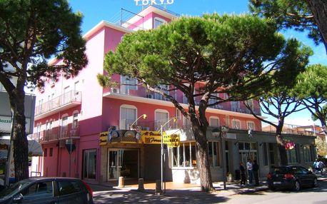 8–10denní Itálie, Lido di Jesolo | Hotel Tokio*** 50 m od pláže | Dítě zdarma | Balkón, klimatizace a plážový servis zdarma