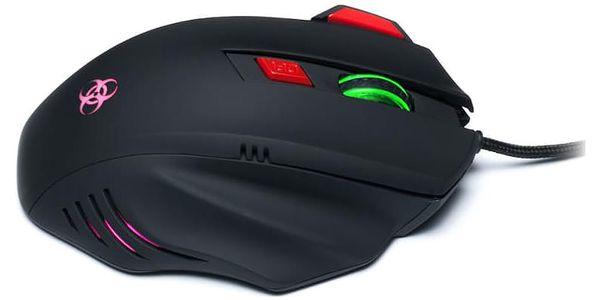 Myš Connect IT Biohazard černá / optická / 7 tlačítek / 3200dpi (CI-191)5