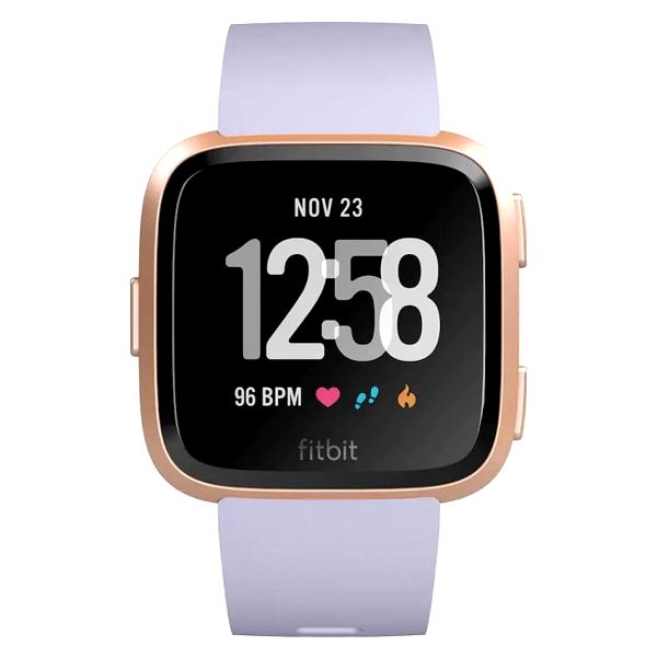 Chytré hodinky Fitbit Versa (NFC) - Rose Gold / Periwinkle (FB505RGABLV-EU)2
