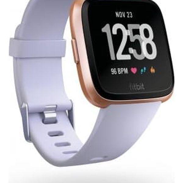Chytré hodinky Fitbit Versa (NFC) - Rose Gold / Periwinkle (FB505RGABLV-EU)3