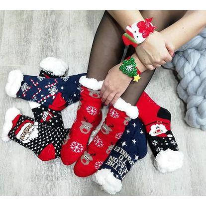Dámské vánoční ponožky CHRISTMAS