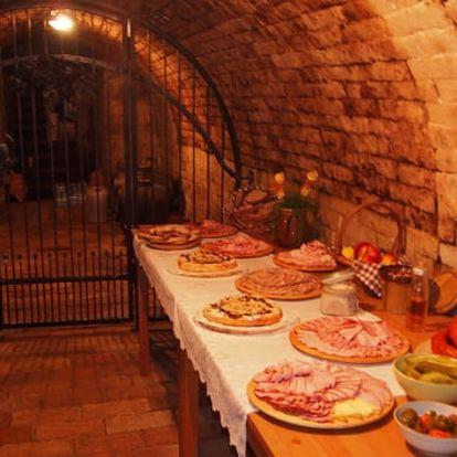 Pobyt na Moravě pro dva: 3 či 5 dní vč. snídaní a degustace vín