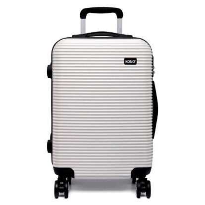 Dámský bílý kabinový kufr Travel 6676