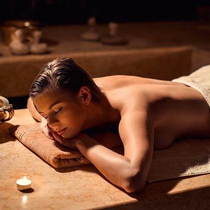 Léčebná konopná masáž zad, krku, ramen, šíje a hýždí