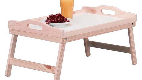 Snídaňový stolek, podnos s nohama, 51x32 cm, ZELLER